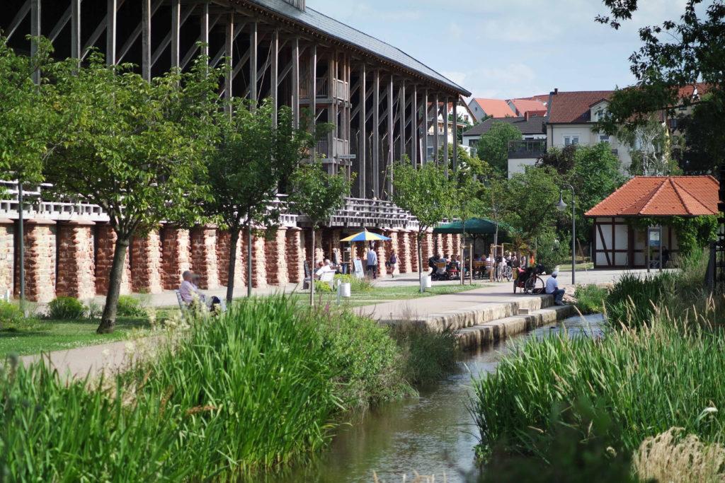 Saline Gradierbau Bad Dürkheim Kurpark - Fewo Ferienwohnung Maier Bad Dürkheim Ungstein