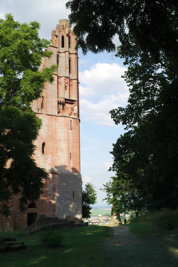 Klosterruine Limburg Bad Dürkheim. Ferienwohnung Maier Bad Dürkheim Ungstein . Fewo Urlaub Rheinland Pfalz